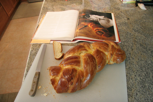 Challah and cookbook